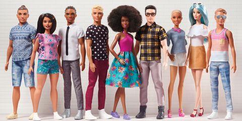 d65bb9d3 Mattel Rolls Out Diverse Line of Ken Dolls - Barbie and Ken