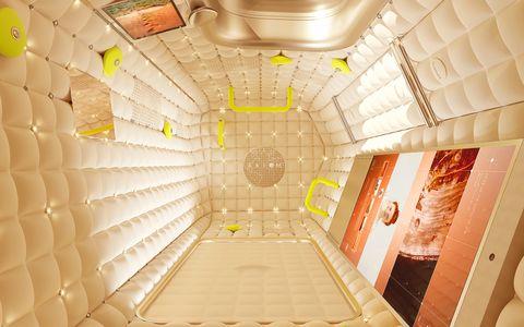 Axiom Crew Quarters Interior