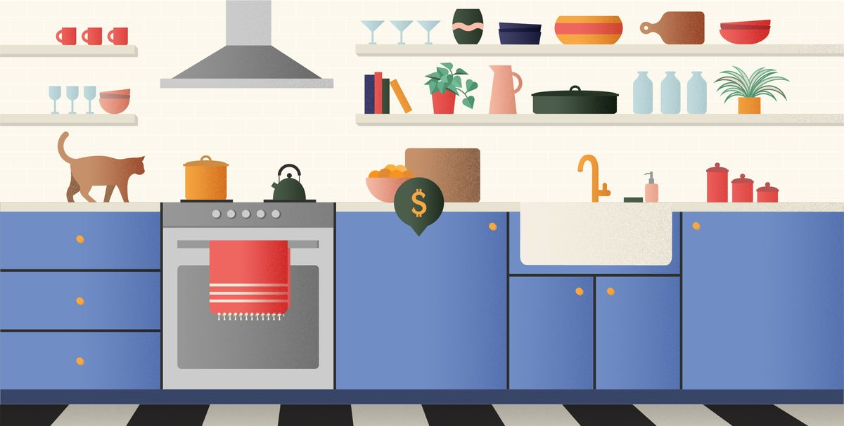 Where Your Money Goes In A Kitchen Remodel: How Much Money To Remodel A New
