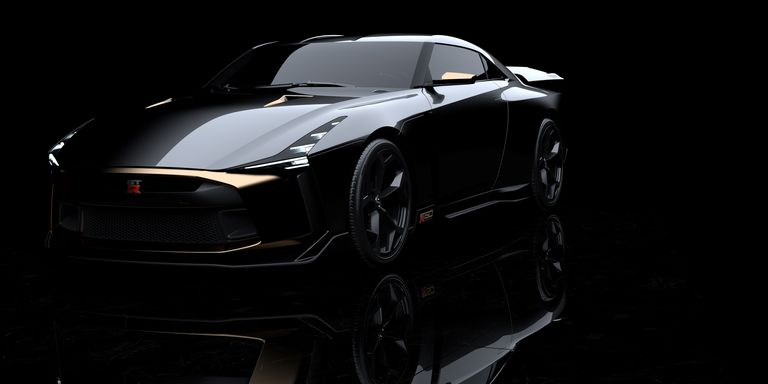 The Nissan GT-R50 by Italdesign is a 720HP Birthday Cake