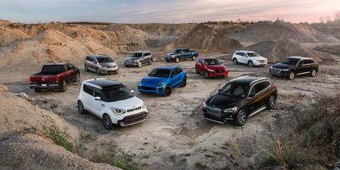 2018 10Best Trucks and SUVs
