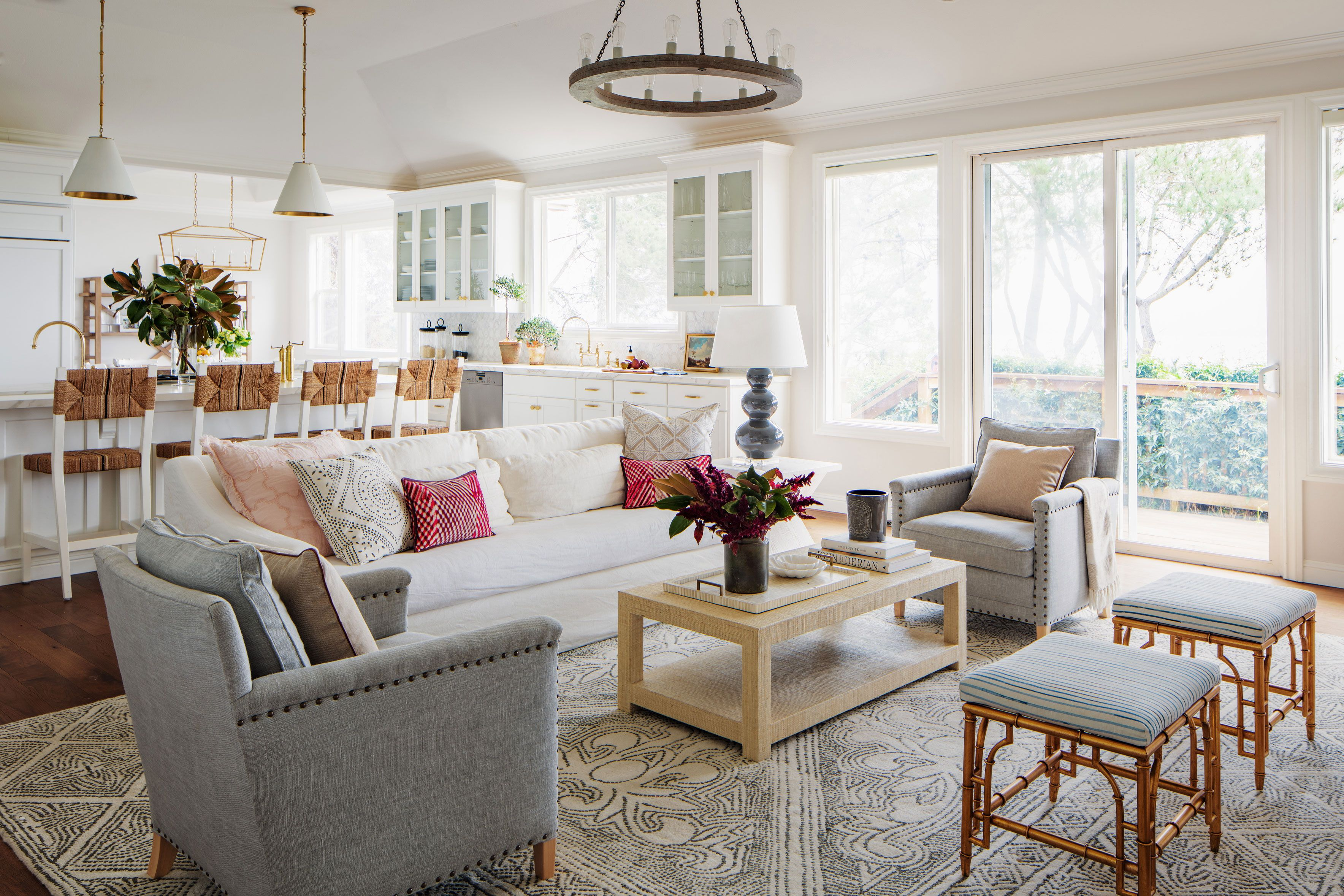 Nest Design Co.\'s Bay Area Home Proves Blue Is a Neutral