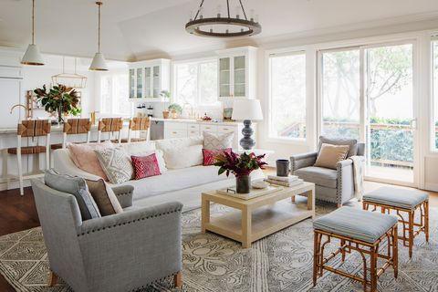 Living room, Furniture, Room, Interior design, White, Property, Coffee table, Table, Building, Home,