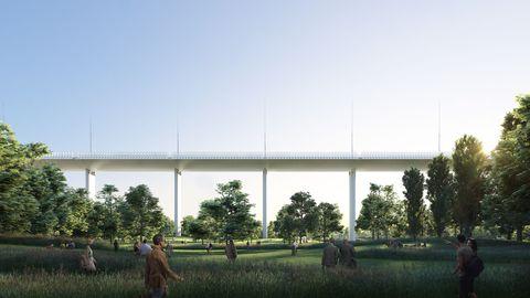 Il ponte di Genova progettato da Renzo Piano