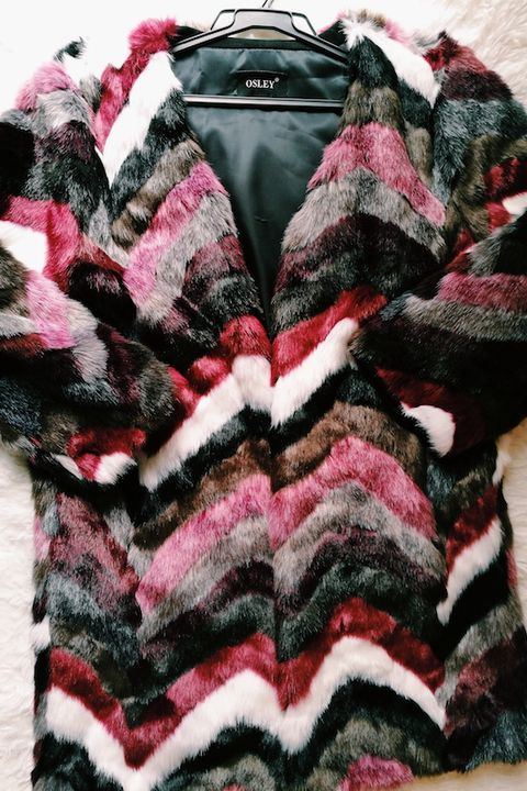 Clothing, Woolen, Wool, Fur, Outerwear, Pink, Textile, Sleeve, Knitting, Sweater,