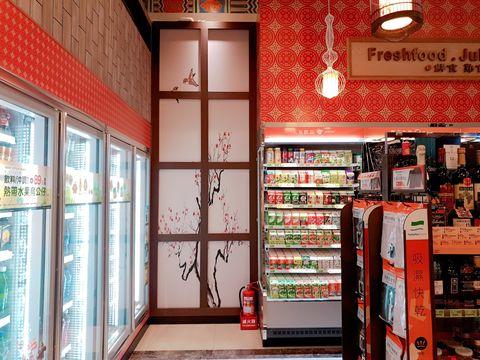 Building, Retail, Door, Interior design,