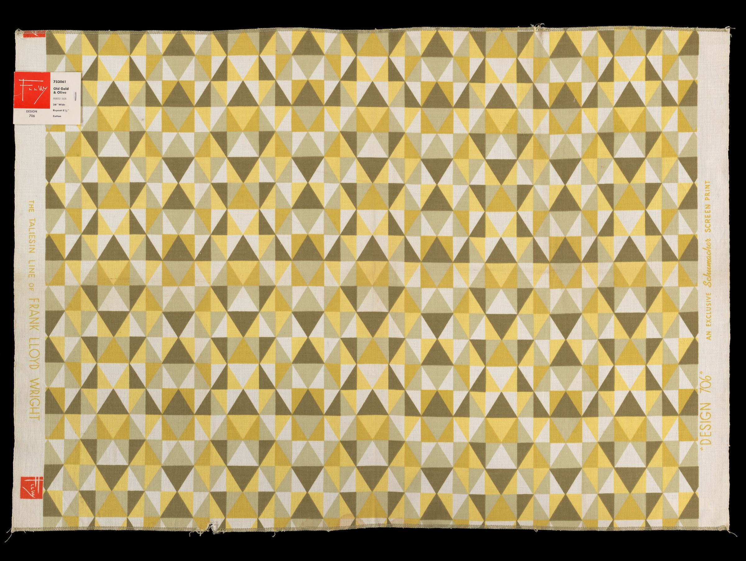 These Frank Lloyd Wright Fabrics Were Way Ahead of Their Time