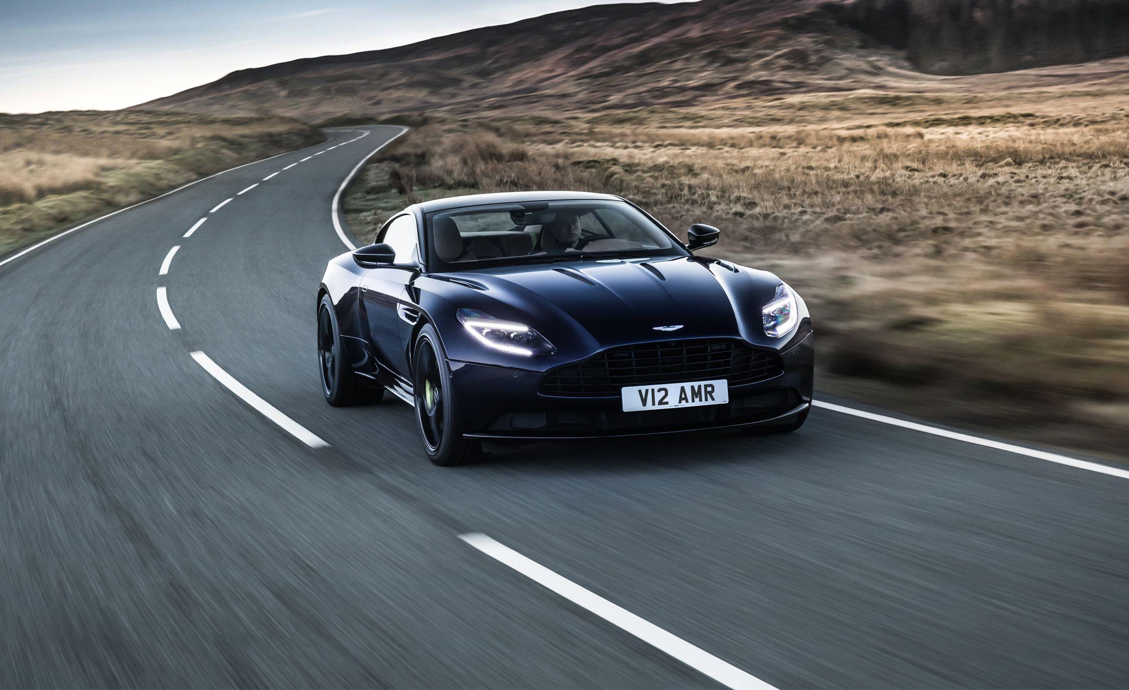 2019 Aston Martin Db11 Amr A 630 Hp V 12 Stunner News Car And Driver