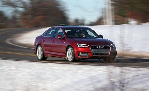 2018 Audi A4 20t Quattro Manual Test Review Car And Driver