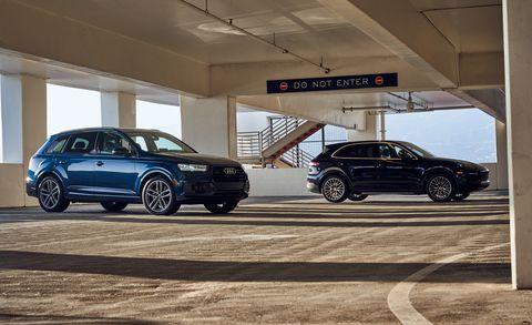 2018 Audi Q7 Vs 2019 Porsche Cayenne Luxury Suv Comparison