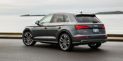 Audi Q5 0 60 >> The Audi Sq5 Is What This Generation S Muscle Car Looks Like
