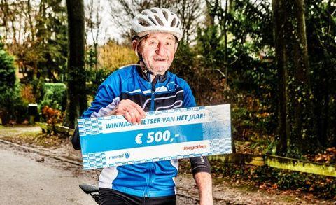 Drikus Haalboom, fietser van het jaar, bennekom, verkiezing