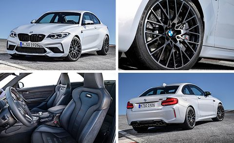 2019 Bmw M2 Competition Revealed Faster Stiffer Cleaner News