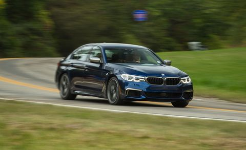 2018 Bmw M550i Xdrive Test Review Car And Driver