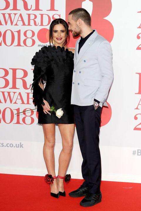 2018 Brit Awards red carpet - Cheryl Cole