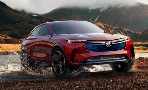 All-Electric Buick Enspire SUV Concept Revealed | News | Car and Driver