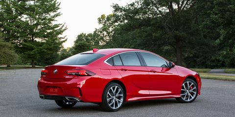 The 2018 Buick Regal Gs Gets 310 Hp And Focus Rs Esque All Wheel Drive