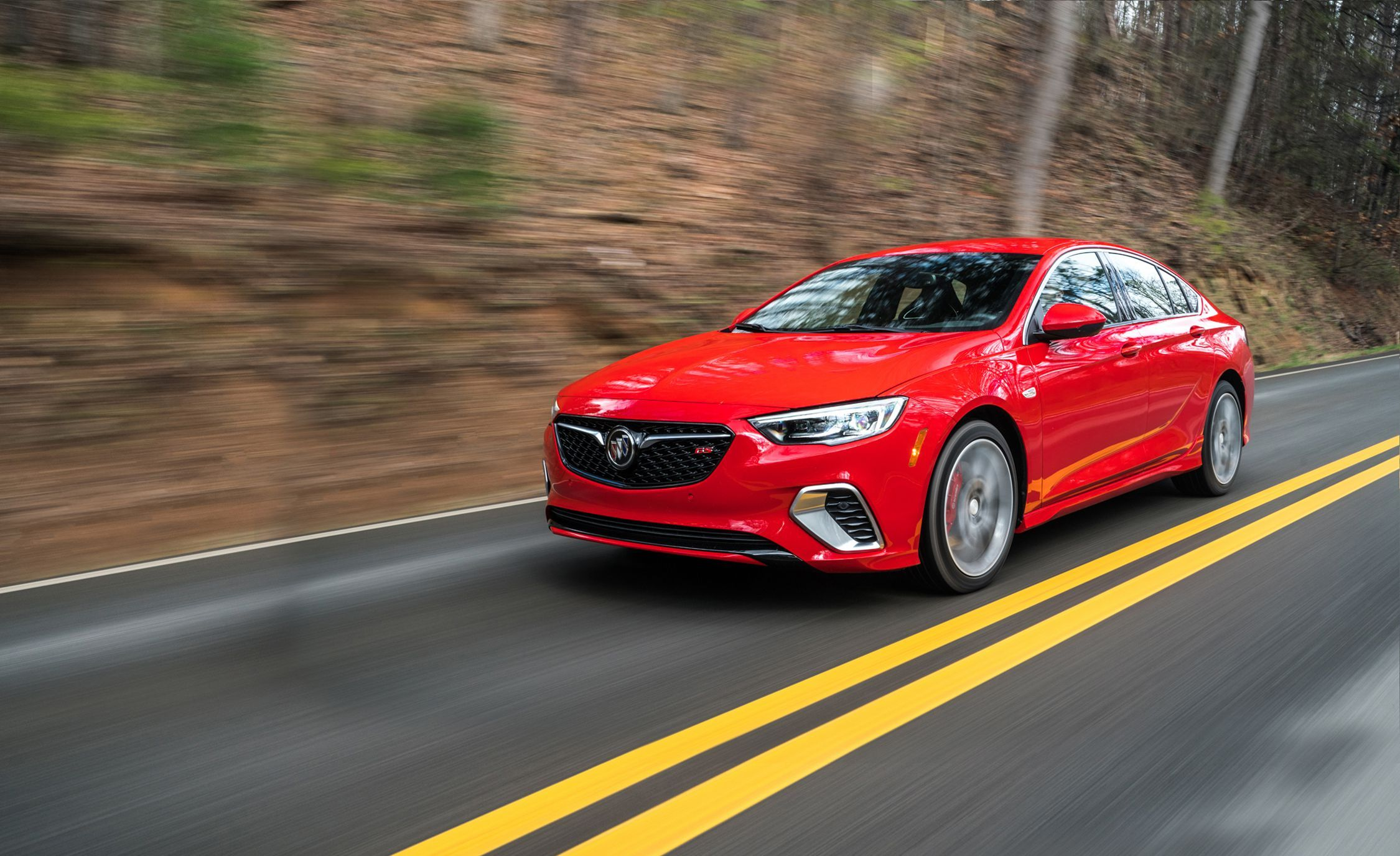 2018 Buick Regal Gs First Drive Review Car And Driver