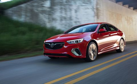 2018 Buick Regal Gs Photos And Info News Car And Driver