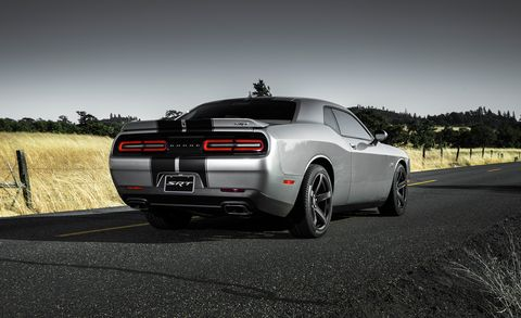 2018 Dodge Challenger SRT 392 rear