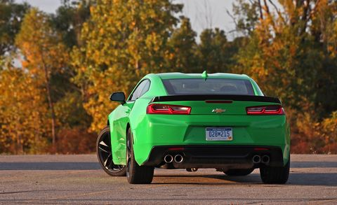 2018 Chevrolet Camaro V-6 1LE rear