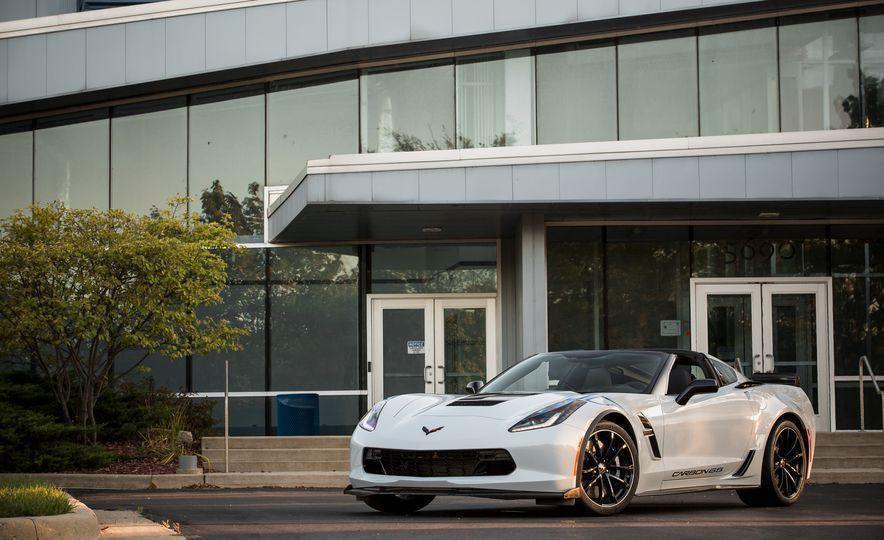 2018 chevy corvette grand sport