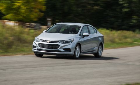 2018 Chevrolet Cruze Diesel Manual Is Frugal And Shifty