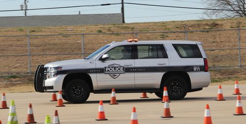 Land vehicle, Vehicle, Car, Sport utility vehicle, Police car, Chevrolet tahoe, Automotive tire, Family car, Autocross, Police,