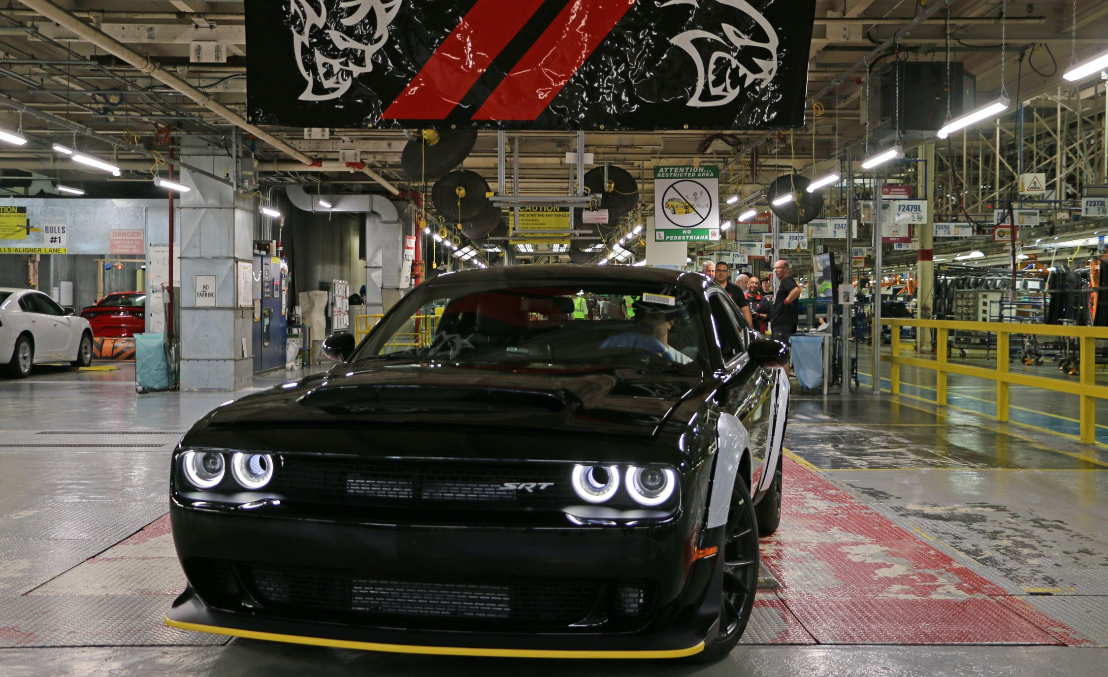 Dodge Completes The Last Challenger Srt Demon News Car And Driver