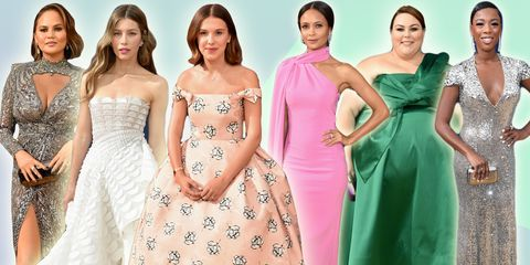 e8eb793c862 2018 Emmy Awards - See Pictures of the Best Celebrity Dresses From ...
