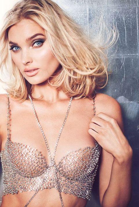 76edf6171aeab See Photos of Elsa Hosk in the Victoria's Secret Fantasy Bra — 2018 ...