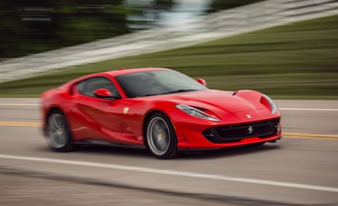 The Ferrari 812 Superfast Lives Up to Its Billing