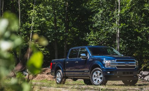 2018 Ford F-150 SuperCrew 4WD V-6 Diesel