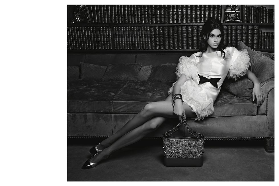 Kaia Gerber Just Starred in Her First Chanel Campaign