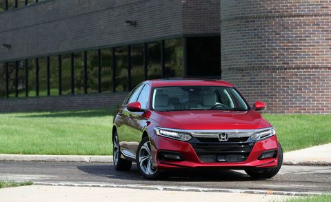 Honda Recalls 232 000 2018 Accord And 2019 Insight Sedans For Backup Camera Problem