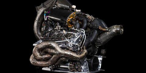 motor de fórmula 1 del fabricante honda