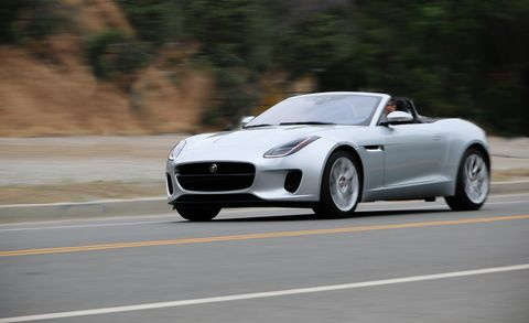 The 2018 Jaguar F Type 2 0t Is Not Sports Car Fast