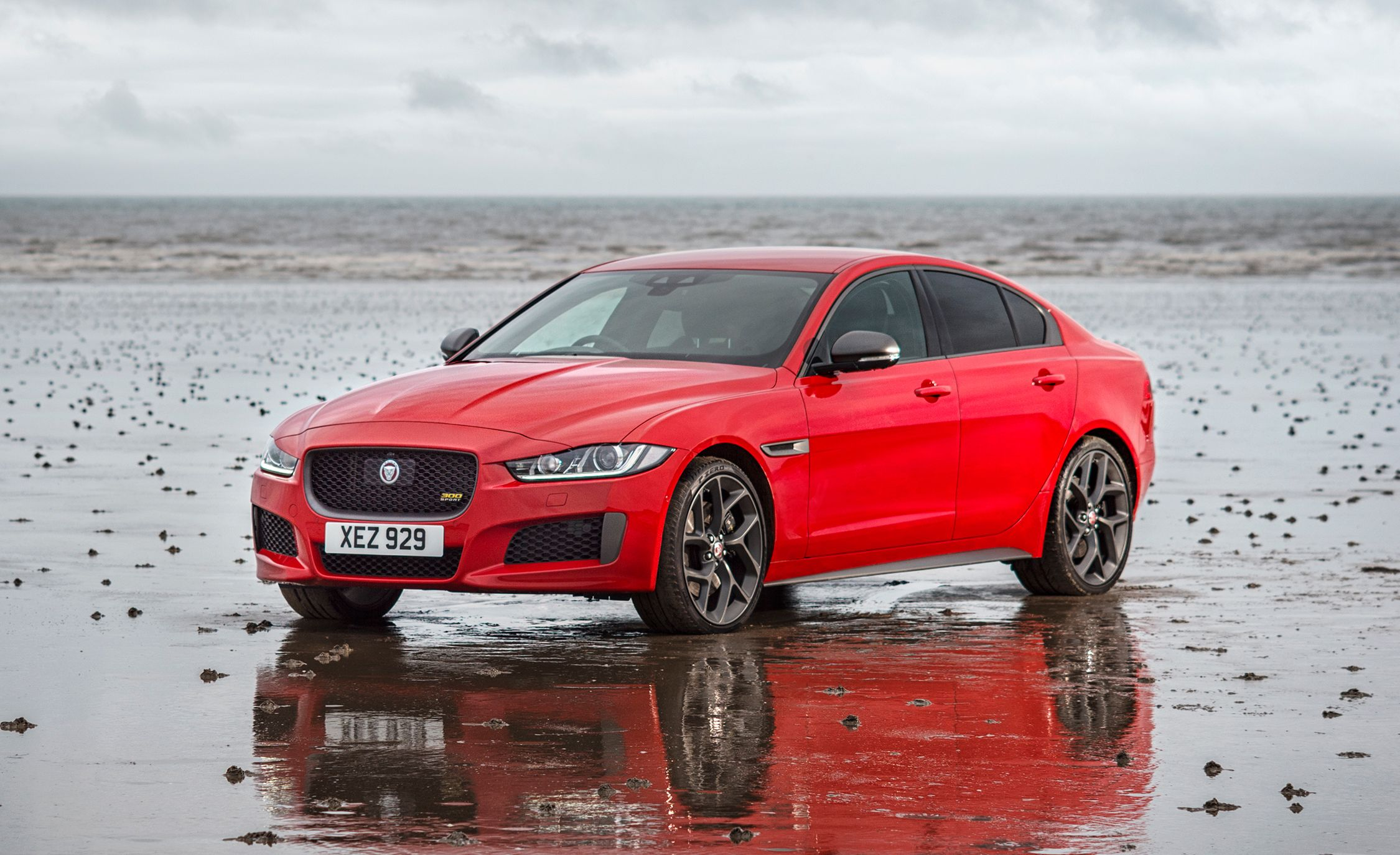 13. Jaguar XE Jaguar's XE is the sole Brit in the entry-luxury class, and its distinctly English character is perhaps its strongest selling point. The top-level version's supercharged V-6 is quick and characterful, while the base four-cylinder is more muted in its moves; the XE also is one of the only compact sports sedans to offer a diesel engine option.