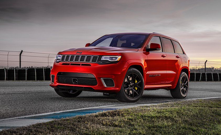 08a2eeae574 2018 Jeep Grand Cherokee Trackhawk Dissected