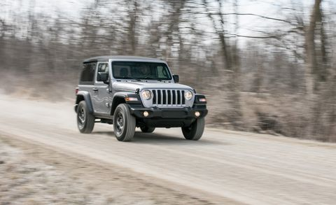 The 2018 Jeep Wrangler JL Two-Door Sticks to Its Core Values