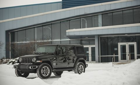 The Four-Cylinder Jeep Wrangler Is Lots More Efficient Than