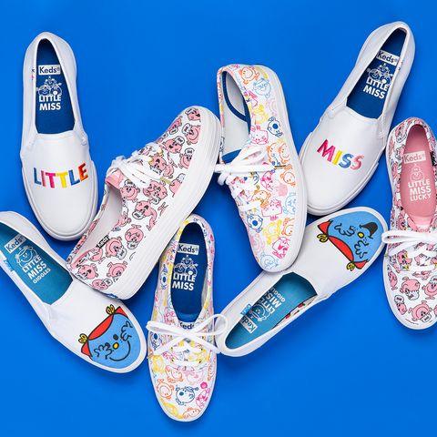 Keds, LITTLE MISS,小白鞋, 美國帆布鞋,奇先生妙小姐