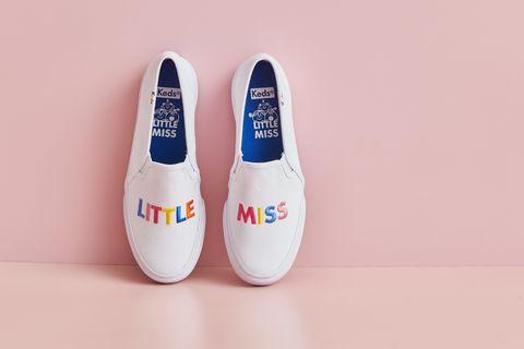 Keds, Keds X LITTLE MISS, LITTLE MISS, 奇先生妙小姐, 小白鞋, 美國帆布鞋, 聯名款