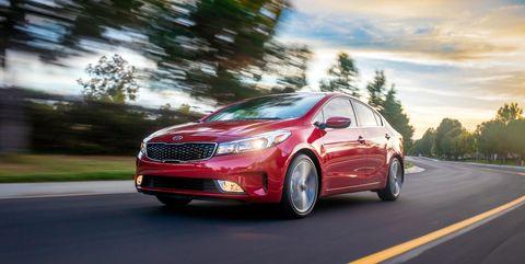 Land vehicle, Vehicle, Car, Motor vehicle, Automotive design, Full-size car, Mid-size car, Kia motors, Family car, Kia forte,