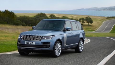 Who Owns Land Rover >> New Land Rover Vehicles Models And Prices Car And Driver