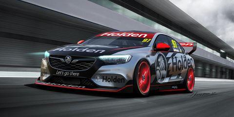2018 Holden Commodore V8 Supercar