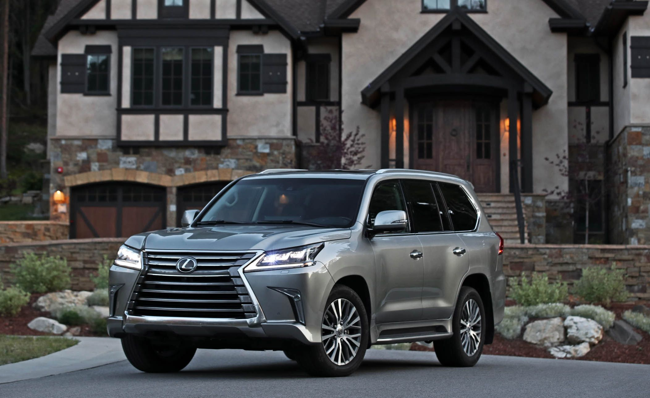 Lexus LX570 (2012–present) If there's one vehicle that combines everything wrong with Toyota and Lexus design over the last 30 years, it's the current LX570 . The luxurious Lexus version of the venerable Toyota Land Cruiser is now in its third generation and has been homely ever since it debuted in 2008.