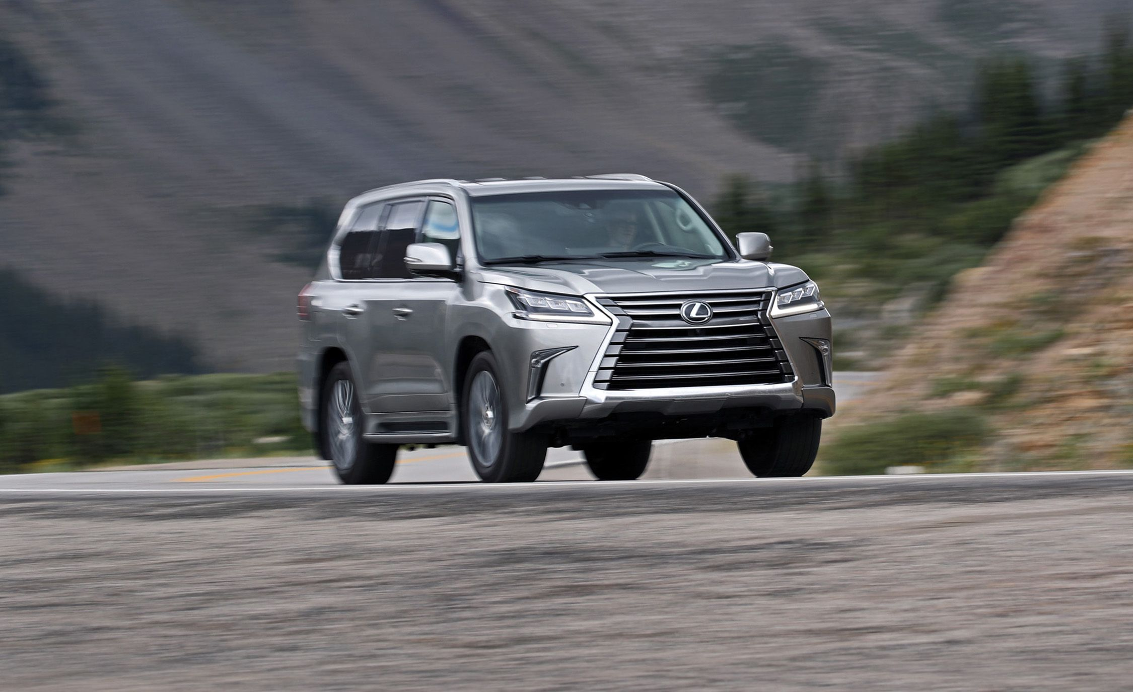 2018 Lexus Lx570 Tested A Highfalutin Hauler Review Car And Driver