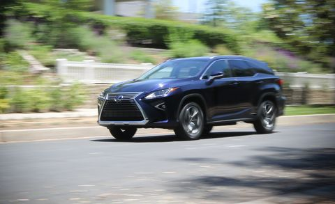 2018 Lexus RX450hL AWD Test: It's Conflicted | Review | Car and Driver