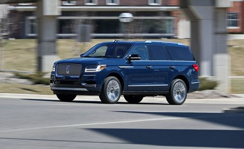 2018 Lincoln Navigator L Black Label: Review, Price >> 2018 Lincoln Navigator 4x4 Tested Three Tons Of Suv Hedonism